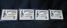 Vintage Ramon's Tablets - Cardboard Box w/Contents - Set of 4 - Rare