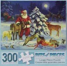 Santa's Barnyard Christmas - 300 Large Piece Jigsaw Puzzle - Bits and Pieces