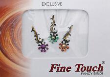 Bindi bijou de peau front bollywood multicolore dot tilak INF D 953