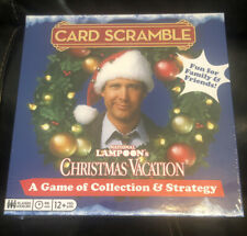 Card Scramble Board Game National Lampoon's Christmas Vacation New Sealed