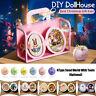 New DIY Doll House Cute Room Seed World Creative Handcraft Present Xmas Gift ❤