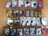 27 WHOLESALE! HUGE RESALE LOT BUTTONS FOR FAUCET HANDLES, DELTA, PFISTER, MOEN