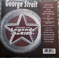 LEGENDS KARAOKE CDG GEORGE STRAIT COUNTRY OUTLAW OLDIES #178 16 SONGS CD+G