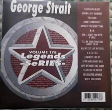 LEGENDS KARAOKE CDG GEORGE STRAIT COUNTRY OUTLAW OLDIES #178 16 SONGS CD+G