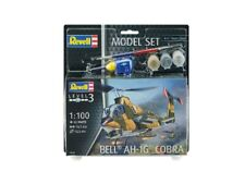 Bell Ah-1g Cobra Helicopter Set 1:100 Plastic Model Kit REVELL