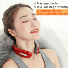 Electric Pulse Back Neck Cervical Massager Pain Relief Relaxation Health Care