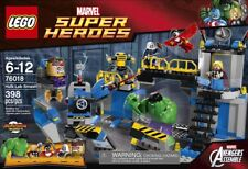 Lego 76018 Marvel Super Heroes HULK LAB SMASH Thor Falcon Modok Hammer XMAS NEW