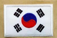SET á 3 Stück Aufnäher Patch Korea Südkorea TAEKWONDO TKD
