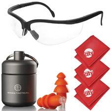 Titan Tactical Eyes Ear Protection 29NRR Shooting Ear Plugs + Ballistic Glasses