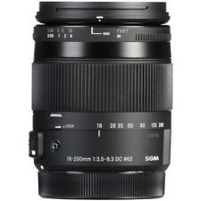 Sigma 18-200mm f/3.5-6.3 DC Macro OS HSM Contemporary Lens for Canon EF