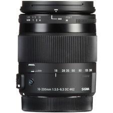 Sigma 18-200mm f/3.5-6.3 DC Macro OS HSM Contemporary Lente para Canon EF