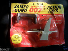 1965 GILBERT - JAMES BOND SECRET AGENT 007 - POOL TABLE & LASER RAY