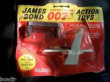 1965 GILBERT - JAMES BOND SECRET AGENT 007 - POOL TABLE & LASER RAY