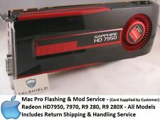 Mac Pro Flashing & Mod service- HD7950, 7970, R9 280, R9 280X - ALL MAKES&MODELS