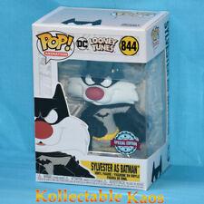 Pop Funko DC Looney Tunes 844 Sylvester as Batman Special Edition