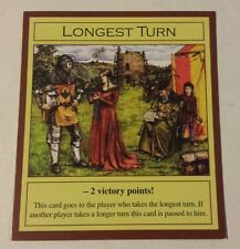 Settlers of Catan Longest Turn Parody for ANY Game Unofficial Promo Expansion