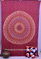 Twin Indian Wall Hanging Hippie Mandala Tapestry Bedspread Handmade Decorative