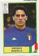 N°185 VINCENZO MONTELLA ITALY ITALIA PANINI EURO 2000 STICKER VIGNETTE CHROMO