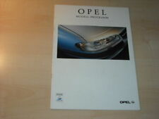 21741) Opel Omega Tigra Sintra Corsa Prospekt 1998