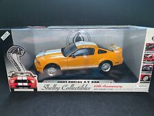 2007 Ford Mustang Shelby GT500. Orange. 1/18 Shelby Collectibles Die-Cast.