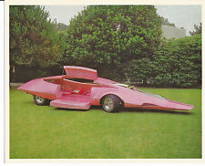 "Old 1970s Pink Panther Car PROMO card 8""x10"" / Peter Sellers / ELDON"