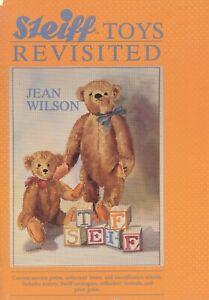 Antique Steiff Teddy Bears Dolls Toys Stuffed Animals Types Dates / Book + Value