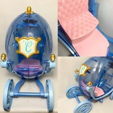 FULL-SIZE MATTEL BARBIE CINDERELLA HORSE AND CARRIAGE Pre-owned