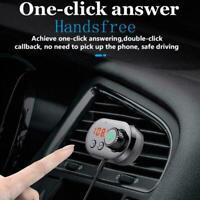 Auto Bluetooth FM Transmitter Drahtlose Freisprecheinrichtung MP3 Player I8K5