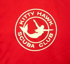 KITTY HAWK SCUBA CLUB small jacket mermaid logo windbreaker vtg Dayton OHIO