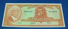 Bank of Haiti 5 Gourdes 1973 212 about UNC