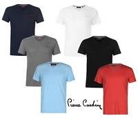 Promotion Tee-shirt manches courtes col v homme de marque P.CARDIN du XS au 4XL