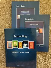Accounting by Horngren, Harrison, Oliver -- PLUS Study Guides