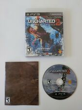 Uncharted 2 Among Thieves (Sony PlayStation 3, 2009) PS3 Complete CIB Excellent