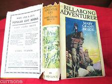 Billabong #9  Mary Grant Bruce BILLABONG ADVENTURERS C1953 HCDJ vintage