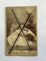 possible Memento Mori Baby black white photo post mortem postmortem photograph