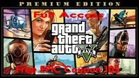 GTA - V PREMIUM ONLINE EPIC ACCOUNT + 10$ CREDIT [FAST DELIVERY | FULL ACCESS]