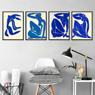 Abstract French Henri Matisse Blue Figure Posters Hd Prints Canvas Art Painting