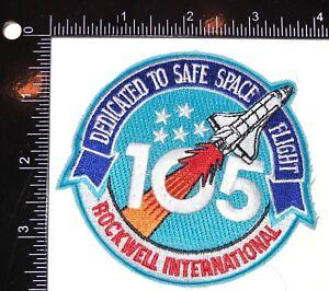 NASA Astronaut Bill Readdy Space Shuttle Rockwell International 105 Patch