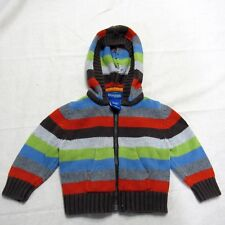 Genuine Baby from OshKosh Infant Girl Sweater Size 6 Months Hooded Zip Up
