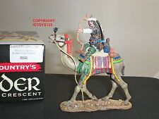 KING AND COUNTRY MK80 CRUSADERS KNIGHT ARCHER MOUNTED ON CAMEL FIRING FORWARD