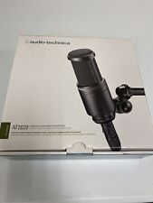 Audio-Technica AT2020 Cardioid Condenser Studio Microphone - Black