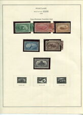US TRANS-MISSISSIPPI EXPOSITION ISSUE TO 10 CENT MH!