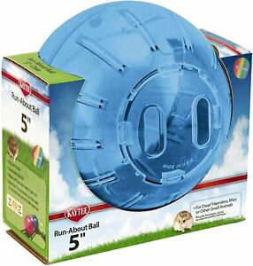 """Kaytee Dwarf Hamster Mini Run-About Exercise Ball 5"""", Color May Vary"""