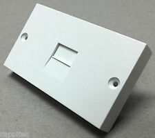 REPLACEMENT LOWER FRONT FACEPLATE FILTER FOR NTE5A BT MASTER TELEPHONE SOCKET