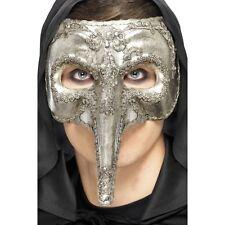 Linea UOMO LUSSO VENEZIANO CAPITANO MASCHERA Naso Costume Divertente Costume Masquerade Ball