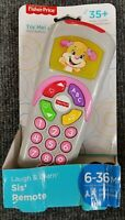 NEW Laugh and Learn Sis Remote Toy with Light Up Screen and 35+ Sing Songs pink