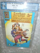 Archer & Armstrong #0 Gold Logo Graded PGX 9.6 Valiant Comics 1992