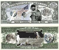 FREE SLEEVE Casper the Friendly Ghost Million Dollar Funny Money Novelty Note