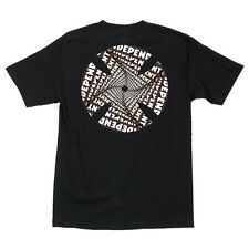 Independent Trucks Spiral Skateboard Shirt Black Xxl