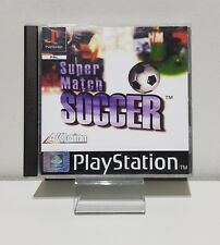 SUPER MATCH SOCCER (PS1 Game) Playstation 1 OVP+Anleitung A3316